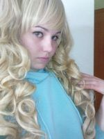 Me with my new wig 2 by KasumiKetchum