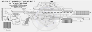 UN AR-588 Carbine WIP 1 New!! by Jon-Michael-May