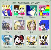 2010 Summary of Art by MessuNya