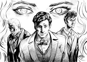 The Day of the Doctor inks by MatiasSoto