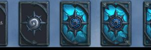 Painting Step of Lich King Card Back by YanmoZhang