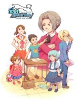 Phoenix Wright: Kid Attorney by Hello-Morphine