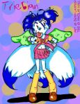 Trie as a magical schoolgirl by ladylaguna