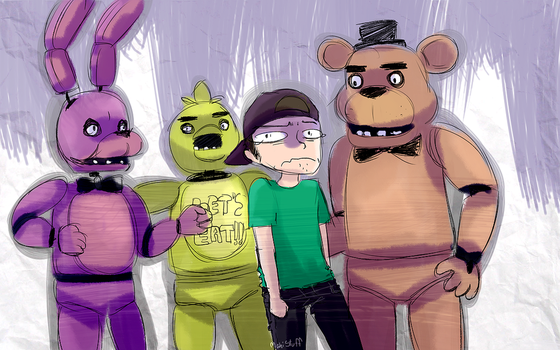 FIVE NIGHTS AT FREDDY'S by MahiStuff