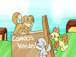 PMD United Force Cameos Needed by YoshiStar6822