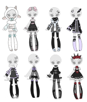 +Outfit Adoptable Mix 19 [CLOSED] (0/8) + by Hunibi