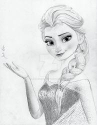 Elsa from Disney's Frozen by julesrizz