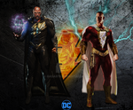 Black Adam Movie Concept Poster by gasa979