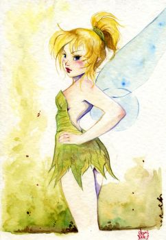 tinkerbell by OlayaValle