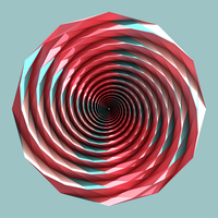 12 Sided Highly Eccentric Spidron by Shastro