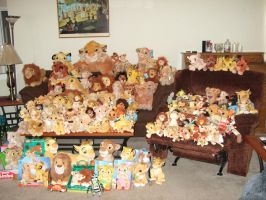 Update of my Lion King Plush Collection by Itachislilgirl