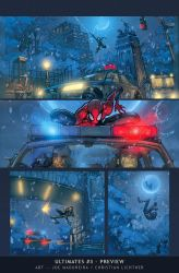 Ultimates3 Issue 2 pages by liquidology