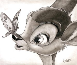 Bambi by Anthony-Woods