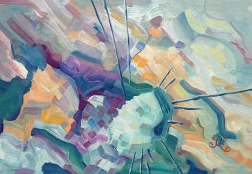 Abstract landscape 05 by Poecilus