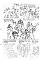Inventing the Steel pg 3 pencils by introvertedart