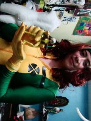 Rogue cosplay process 4 by Lein744