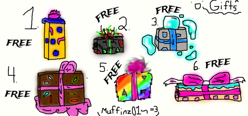FREE  Raffle Adopts(CLOSED) by Muffinz01