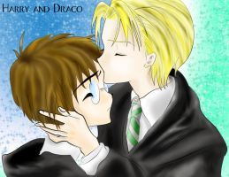 Draco and Harry- Completed Ver by EclispeFlower