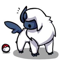 Child Absol by Ginsora