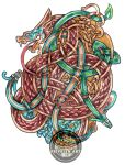 Serpent knot by Feivelyn