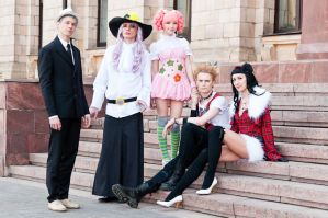Whole Paradise Kiss group by Megraam
