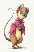 Mrs. Brisby by MalimarTheMage