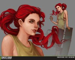 Female Character Series Part 3  Face and Hair by CGCookie