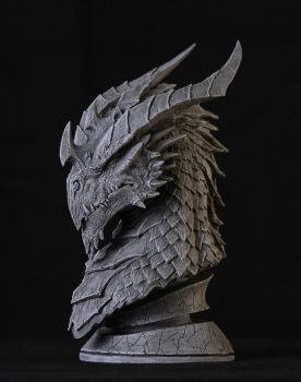 Dragon Sculpt by GlennRaneArt