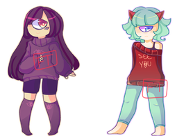 One Eye Adoptables [Set price CLOSE 2/2] by SeikaiAdopts