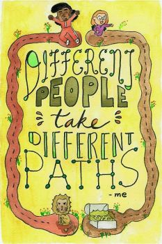 Hand Lettering: Different People, Different Paths by kartunistaW