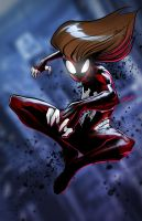 Ultimate Spiderwoman by glencanlas