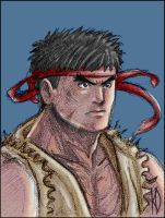 Ryu color by K-A-A-D