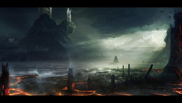 Hallowed Isle by AlynSpiller