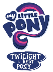 Twilight is Best Pony by Mamandil