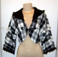 Checkered Shrug by funkyfunnybone