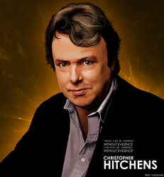 Christopher Hitchens by Equiliari