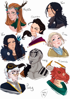 Vox Machina by AlexielApril