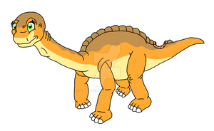Land Before Time OC - Gabi by CatDasher