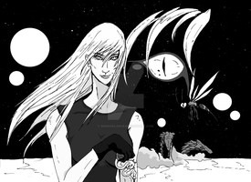 Zazie, Queen of Desert Insects (Manga Version) by SpikeValance