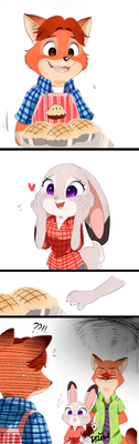 Zootopia-wanna try some? by Unichrome-uni