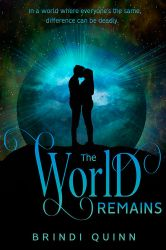 **SOLD** The World Remains Book Cover by DLR-Designs