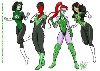 The Other Lantern Girls by Inspector97