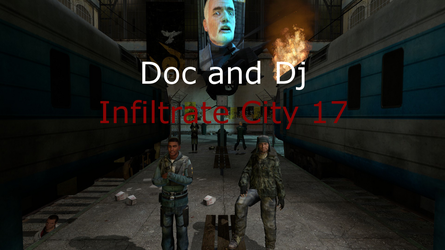 Doc and DJ Play Half-Life 2 by McDoomington