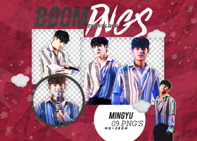 Mingyu PNG PACK#1 SVT by Upwishcolorssx
