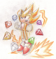 I could go Super Sonic by SRB2-Blade