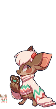 #124 Fornlee - Kit - Gingerbread Cookie (DTA) by Kitkabean