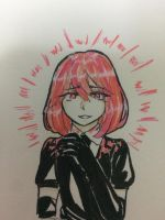 My houseki no kuni OC by Kimoichan