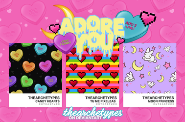 Adore You  | PATTERNS (Ps) by Thearchetypes