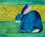 Celtic Rabbit by felixxkatt