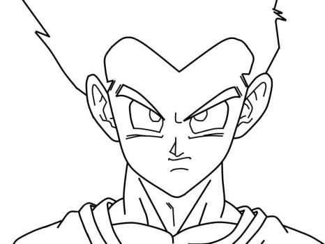 Adult Goten_CloseUp_WIP by carapau